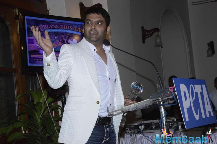 TV Superstar Kapil Addresses The Audience After Receiving The Award