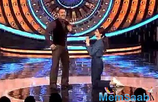 Deepika Padukone Drops Down On Her Knees For Salman Khan