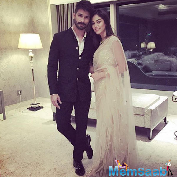 Bollywood's IT Couple Shahid And Mira At Masaba's Wedding Reception