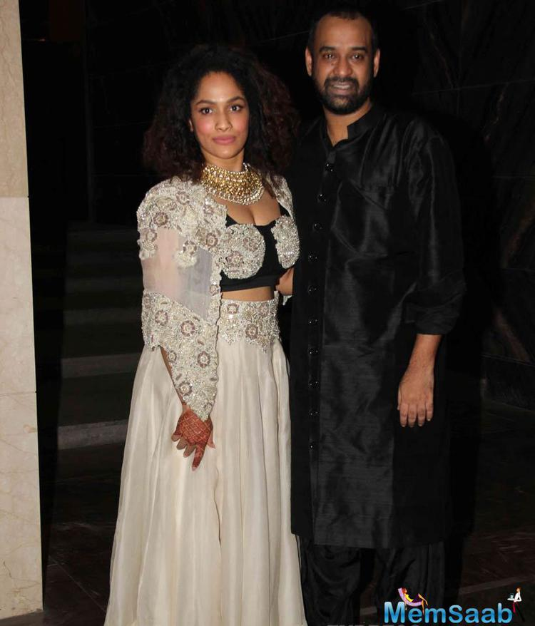 Masaba And Madhu Looked Very Cute And Sizzling At Their Reception