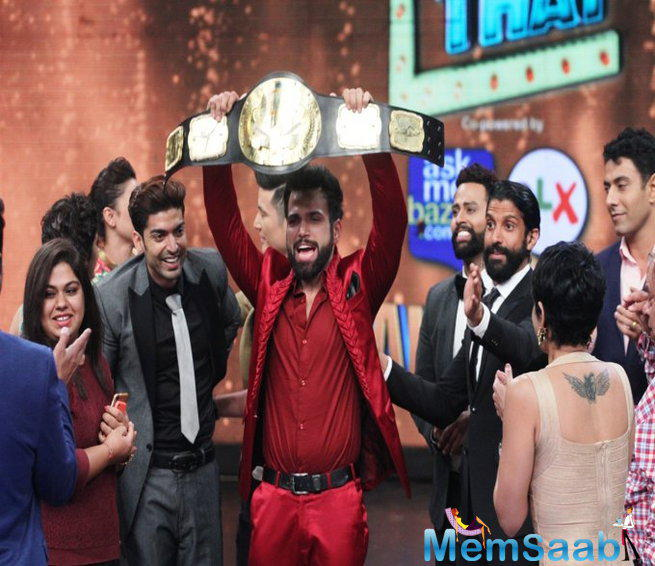 Rithvik Dhanjani Has Been Crowned As The Winner Of I Can Do That