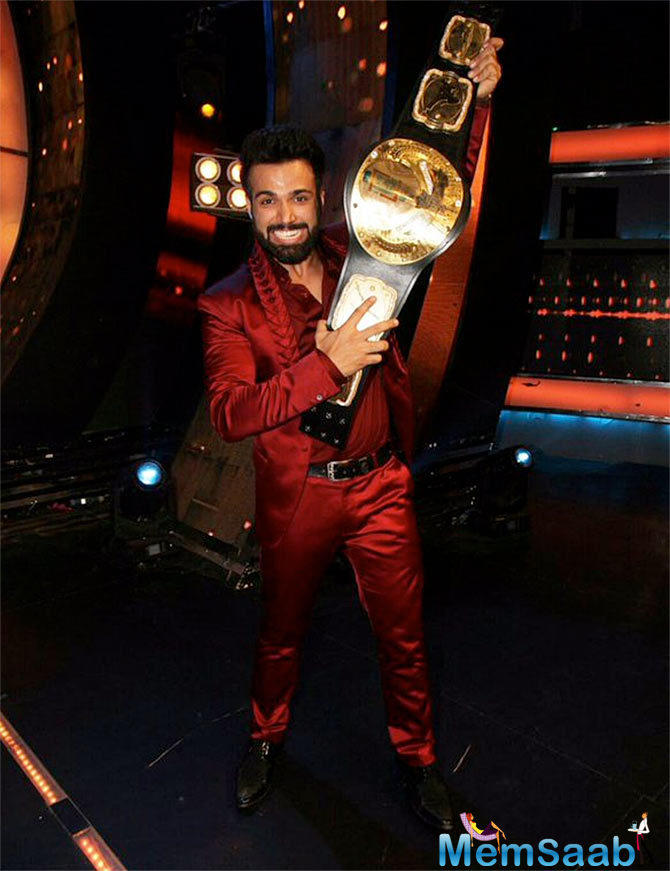 Rithvik Lifting The First I Can Do That Trophy
