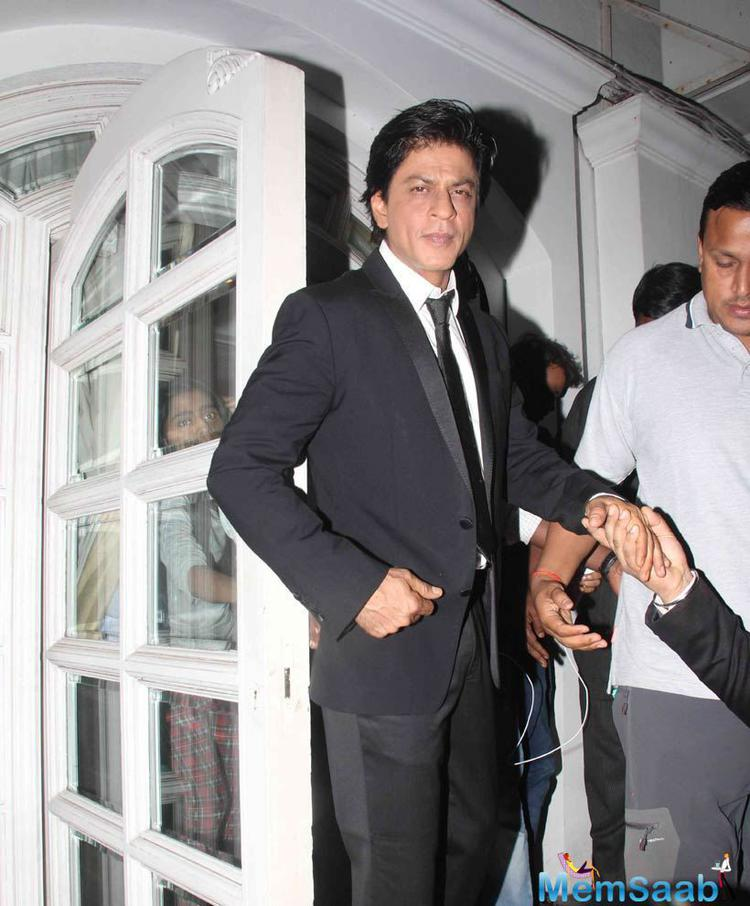 Shah Rukh Khan Looked Dapper At A Book Launch Event