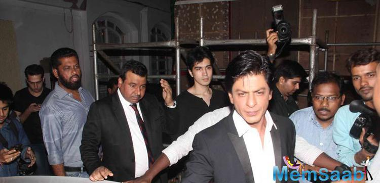Shah Rukh Khan Looked Serious As He Left From Book Launch Event