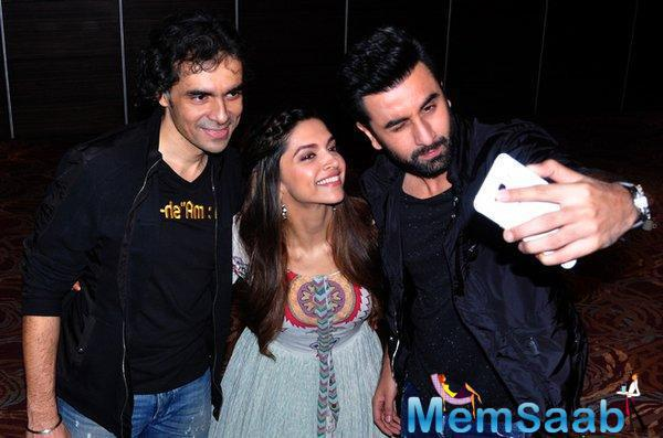 Tamasha Team Takes A Selfie At The Media Houses In Chandigarh City