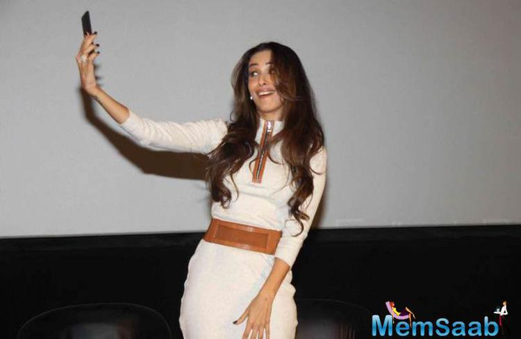 It's Selfie Time For Malaika Arora Khan