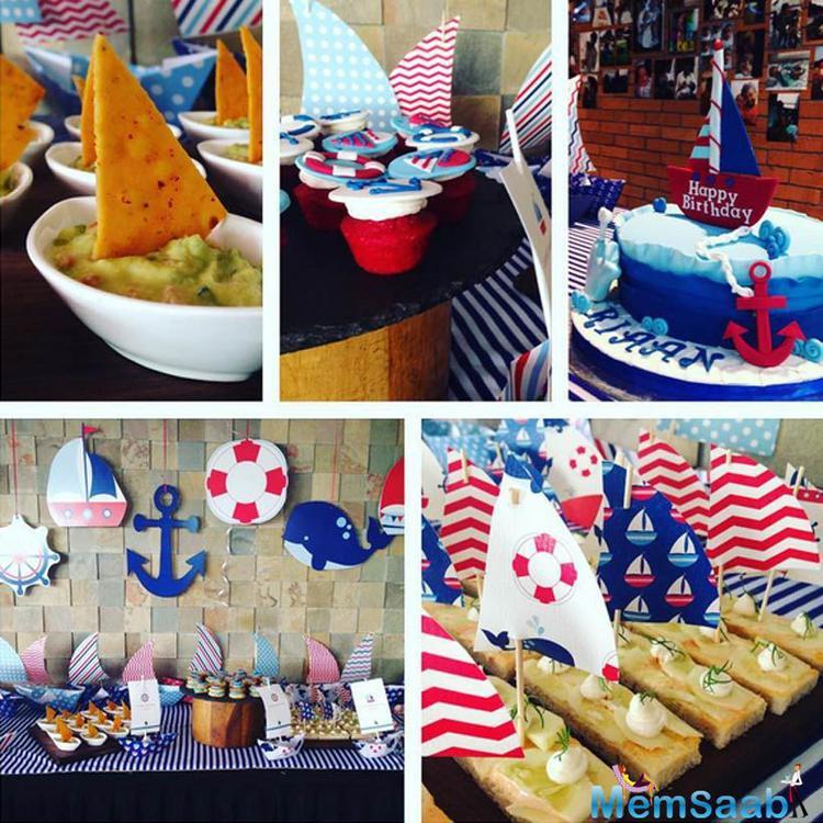 Sailor-Themed Birthday Party Of Birthday Boy Riaan