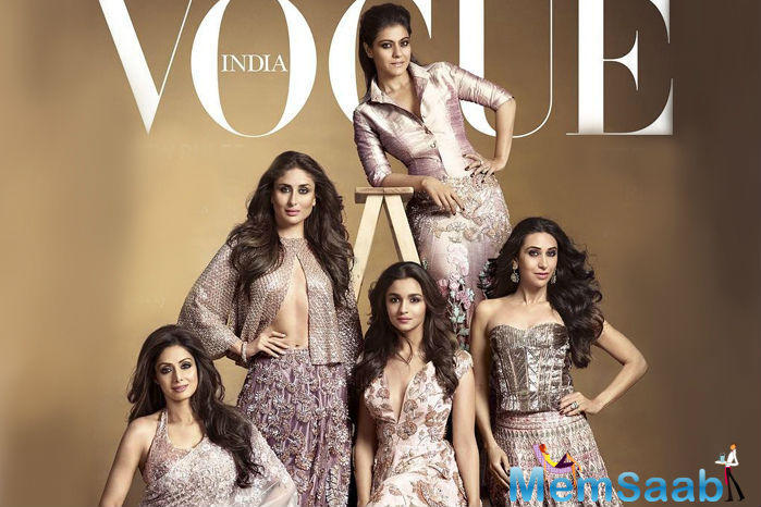 Bollywood Beauties Cover The Vogue Magazine Dec Issue 2015