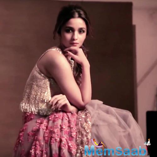 Cuite Pie Alia Bhatt On Romantic Mode For Vogue Magazine Shoot