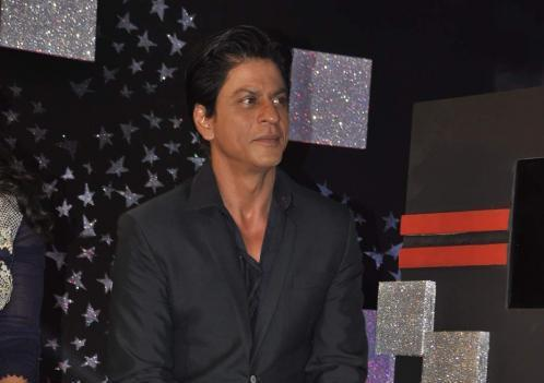 Shahrukh Khan Looks On During The Promotional Event Of Dilwale