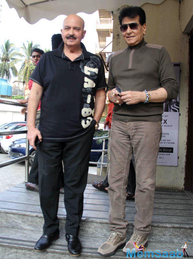Rakesh Roshan And Jeetendra Arrived To Watch Tamasha