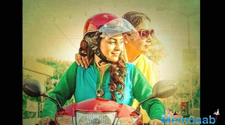 Juhi Makes A Come Back After Two Years With Chalk N Duster