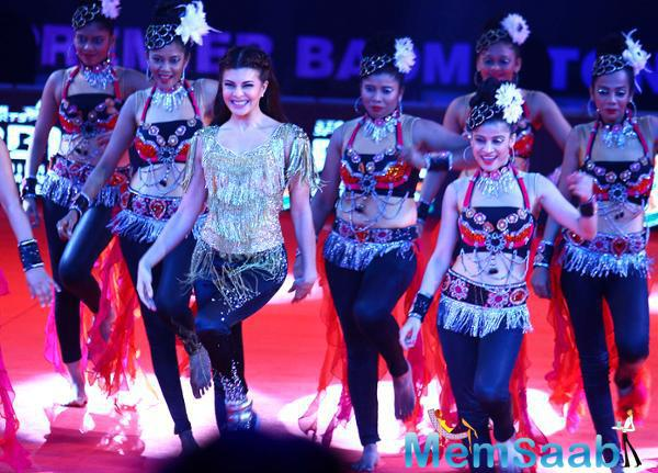 Jacqueline Sizzling Performance At PBL Opening Ceremony