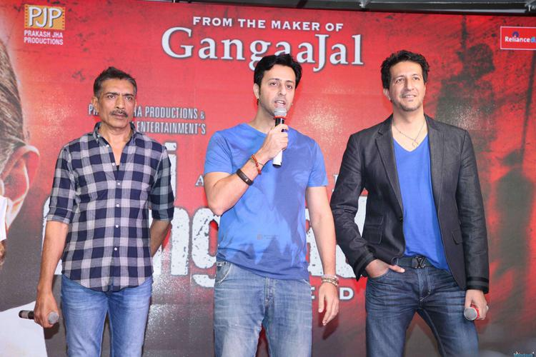 Salim–Sulaiman At The Trailer Launch Of Jai Gangaajal In Mumbai With Director Prakash Jha