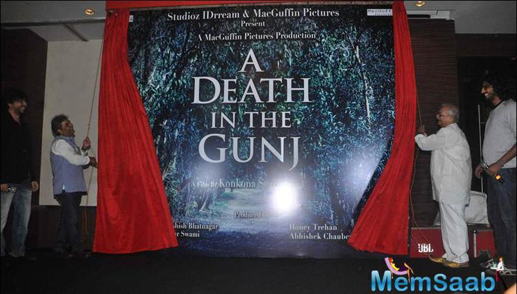 Gulzar And Vishal Launched A Death In The Gunj In Mumbai