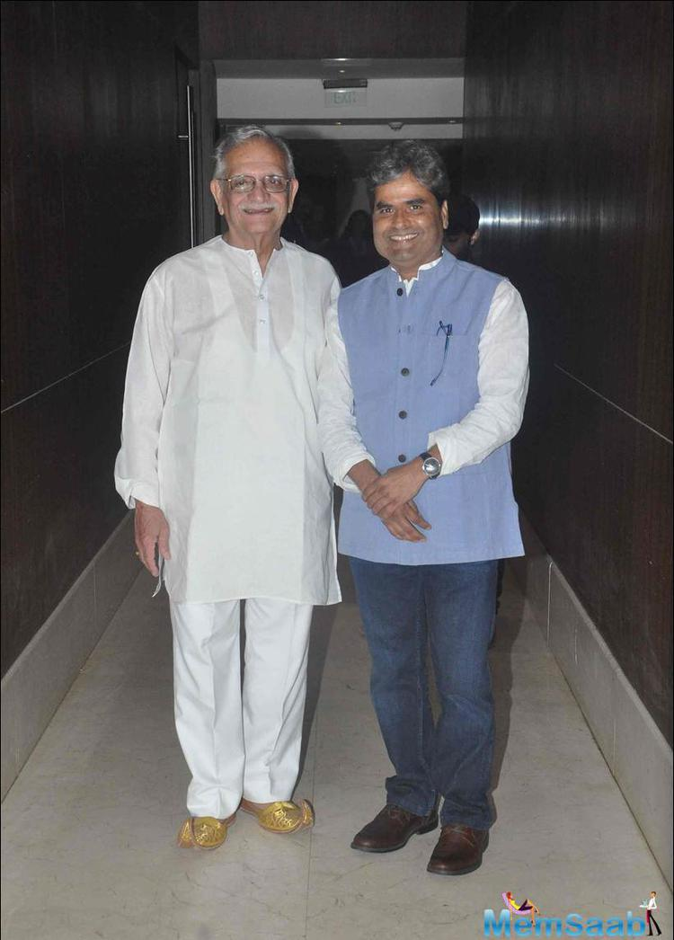 Gulzar And Vishal Spotted To Launch Konkona's First Directorial Debut