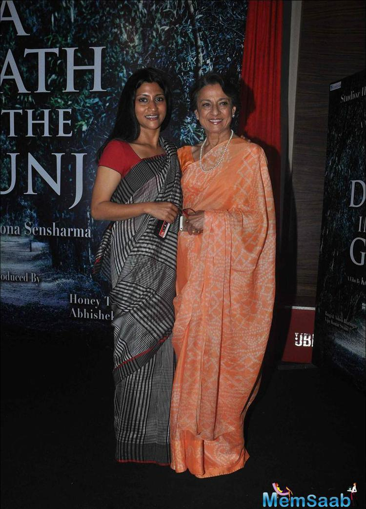 Sharmila Tagore Also Attended The A Death In The Gunj Launch Event