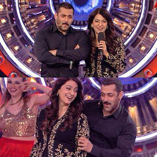 Juhi Chawla and Salman Khan Sean together for the first time in reality TV show Big Boss 9