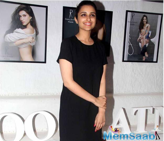It sure that next glam doll Parineeti Chopra  in this year calendar she shows off her fab figure