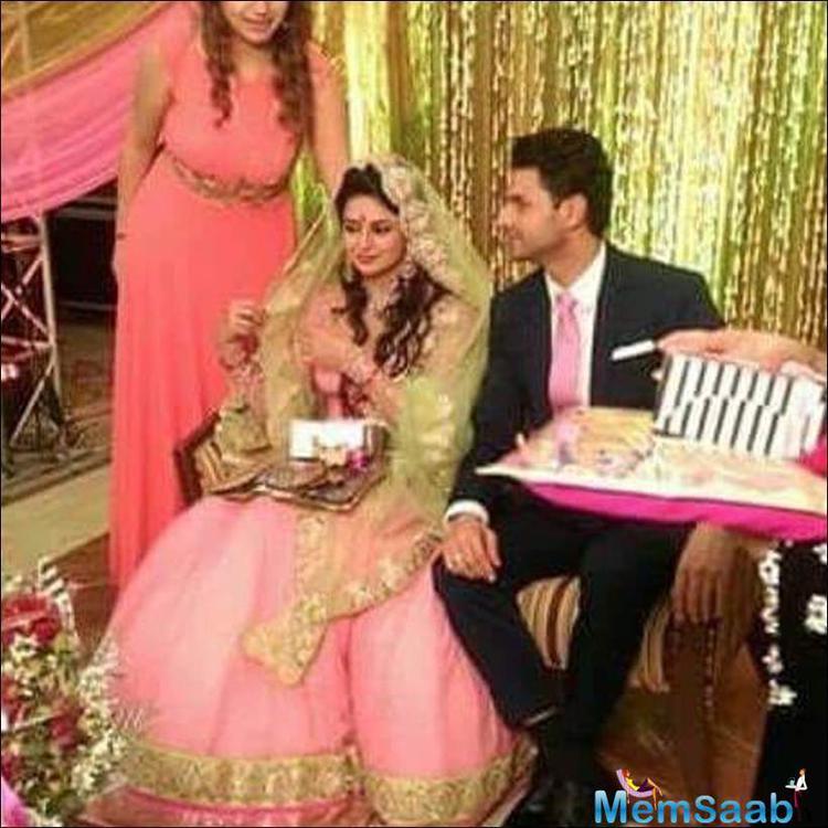 Divyanka Tripathi Got Engaged With YHM Co-star Vivek Dahiya