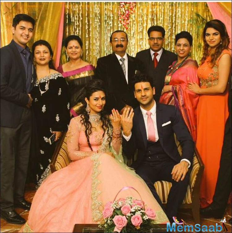 Television Queen Divyanka Has Officially Been Taken By Actor Vivek Dahiya