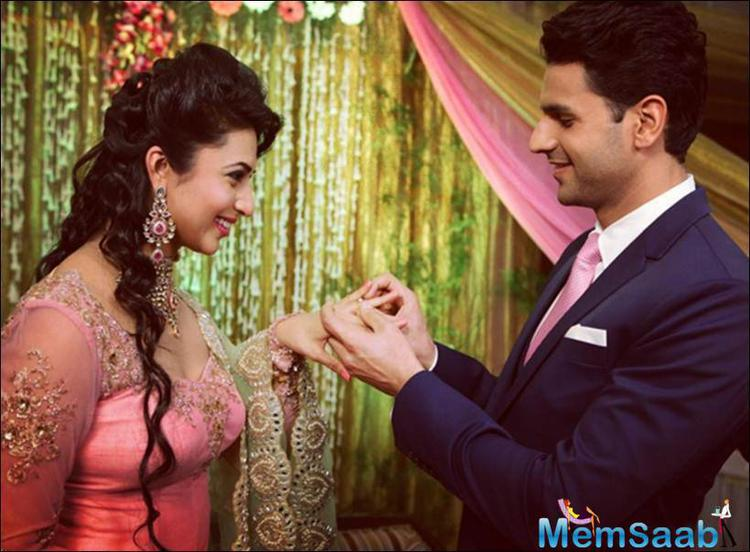 TV's Popular Mom Ishima Exchanges Rings With co-star Vivek Dahiya
