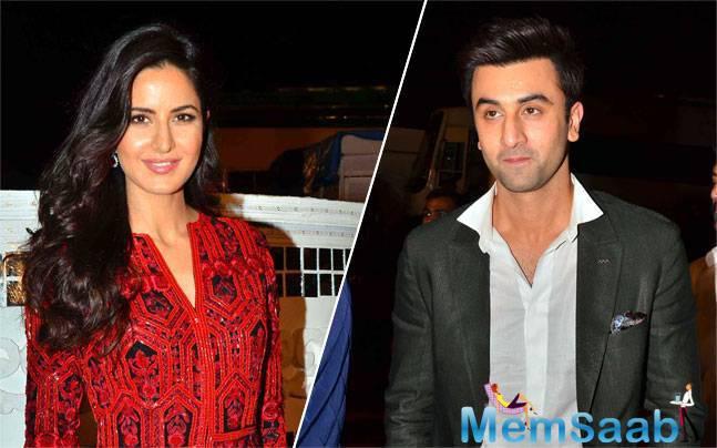 Katrina Kaif as well as ex lover Ranbir Kapoor attented Umang Mumbai Police Show 2016