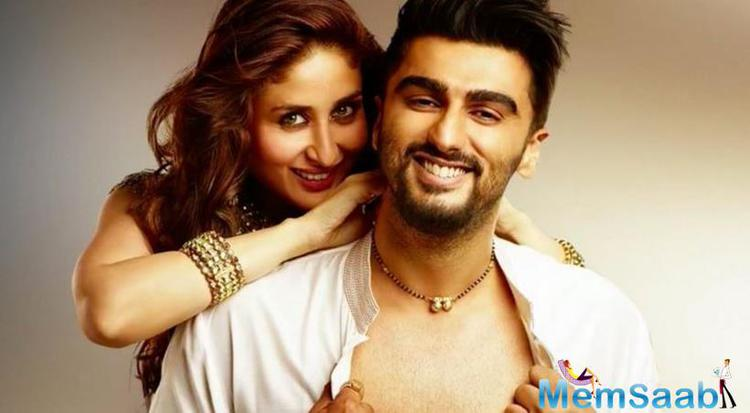 Arjun plays a character of house husband who supports his wife's ambitions and Kareena is a super ambitious career woman