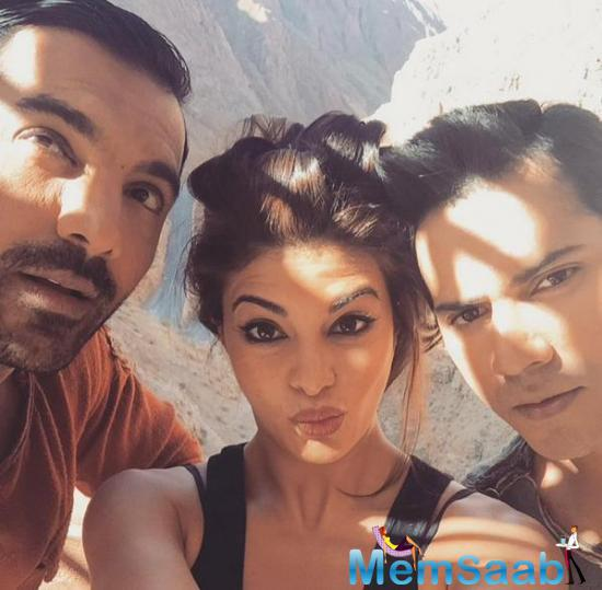 The film, starring Varun, Jacqueline and John will have some action and climax scenes shot in 3rd Schedule