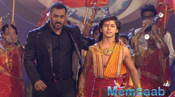 Salman will also share stage with Chakravartin Ashok Samrat
