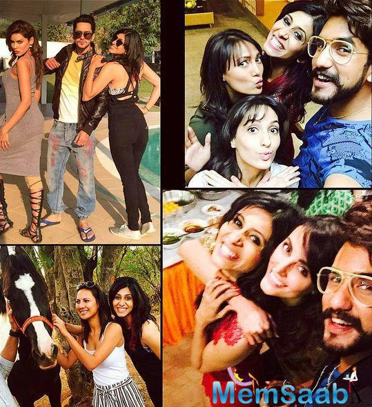 Bigg Boss 9 contestants chilled out with Salman at the palatial farmhouse