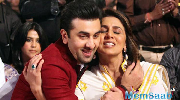 Neetu Kapoor took to Instagram and shared her son's pic and feel proud