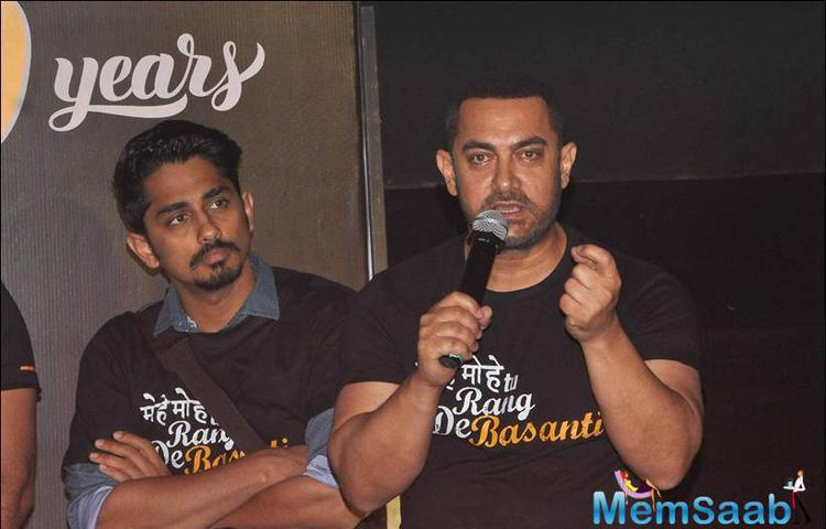 Aamir never wanted to leave the country confessed at an event