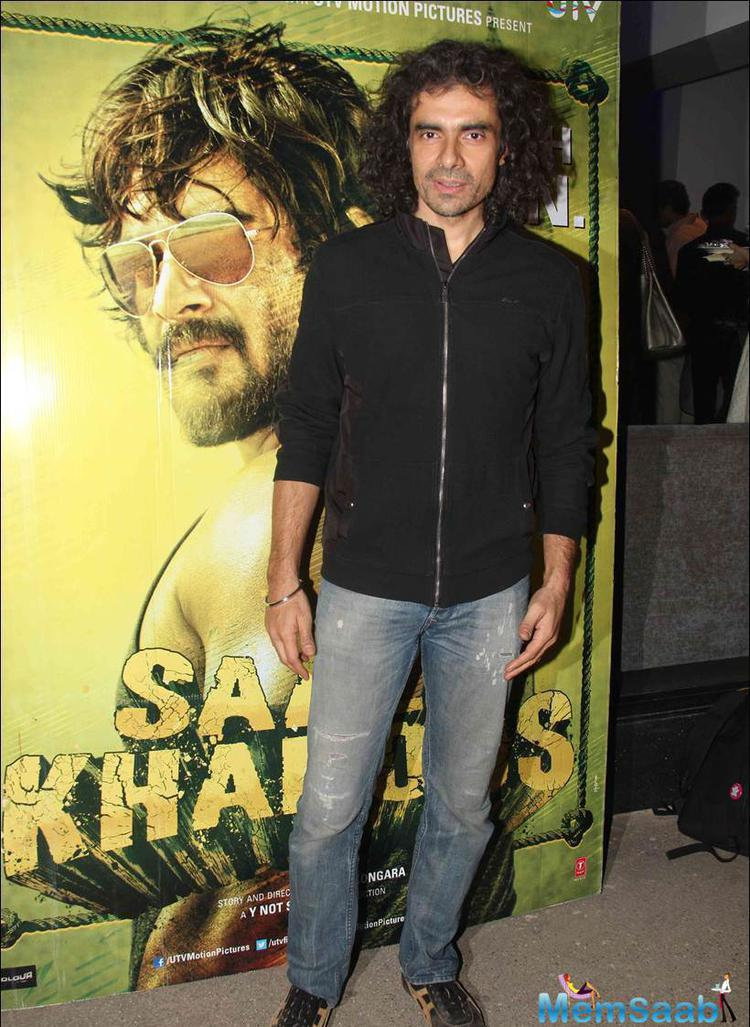 I have just finished watching 'Saala Khadoos' and it is a knockout punch and I am still emotional' added Imtiaz Ali