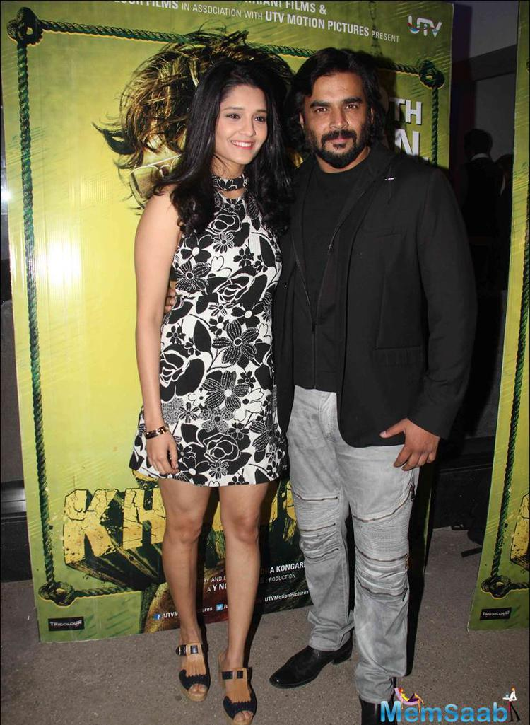 R. Madhavan and Ritika Singh hosted a special screening for Bollywood celebs