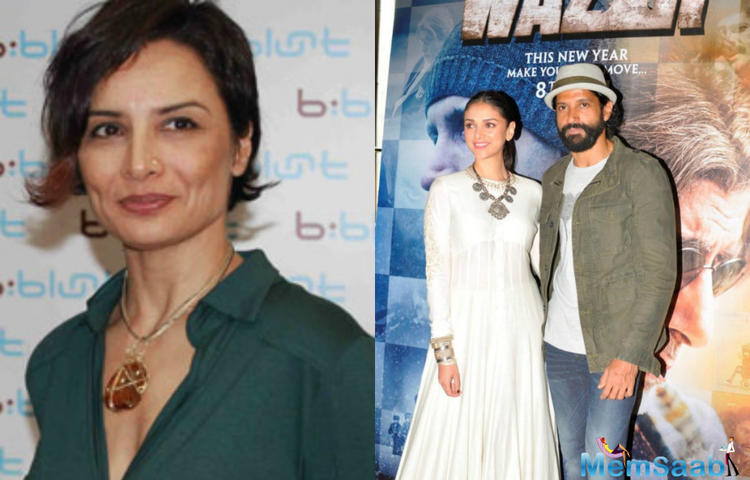 Aditi Rao Hydari is irritated with the speculation, she had been blamed for Farhan and Adhuna's split  unnecessarily, she said at a press meet 'it's affecting my career directly'
