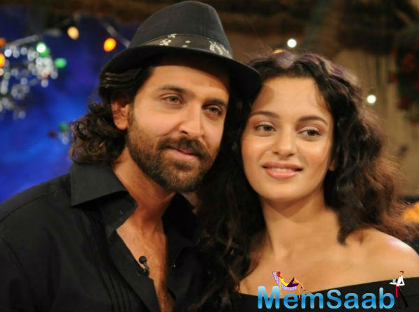 If the sources to be believed, it seems that Hrithik Roshan asked T-Series, maker of the Aashiquie series to drop Kangana Ranaut from its movie because he is not comfortable working with her