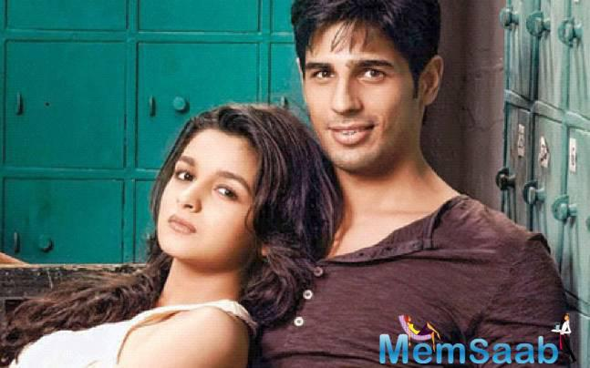 Sidharth said 'I would be with Alia Bhatt and Fawad Khan on Valentine Day for promoting our film Kapoor and Sons'