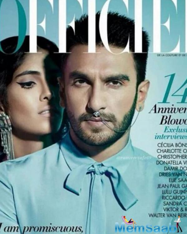 Ranveer Singh's latest look will make you his fan. He will be seen in Aditya Chopra's directorial comeback 'Befikre' with Vaani Kapoor and it will hit the silver screen on Dec 9