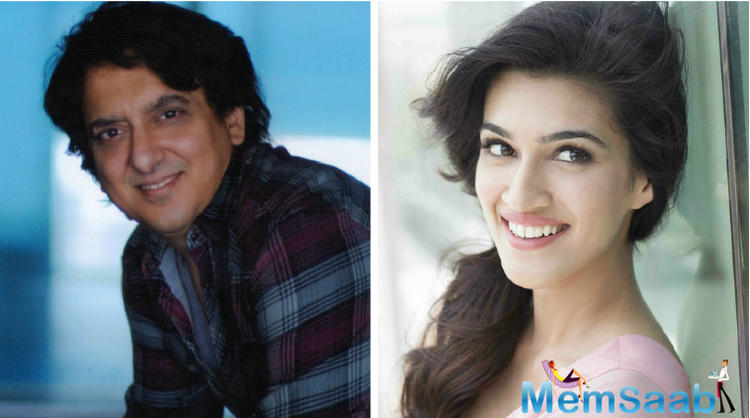 According to a report, Kriti Sanon roped into this movie by Sajid Nadiadwala, who launched Kriti as a lead in Heropanti opposite Tiger Shorff