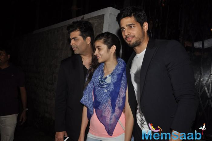 According to report  that you are living in with Alia, Sidharth Malhotra said, no nothing like that. I was doing up my house recently. Alia and I are only sharing a film, not a house