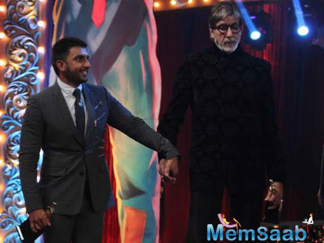Star Ranveer Singh spoke for a roomful of Big B fans when he said,
