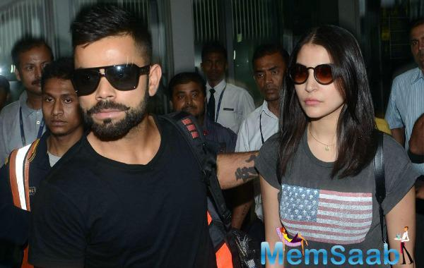 Actress Anushka and Virat were spotted walking hand-in-hand in Auckland where India was playing against New Zealand in February 2014