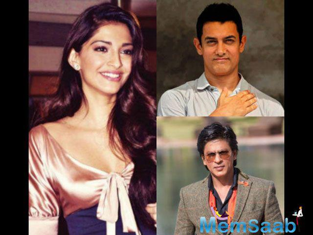 Sonam said at an event , 'everybody should have a right to speak, Aamir and SRK are guarded in their reactions towards issues not concerning their professional commitments