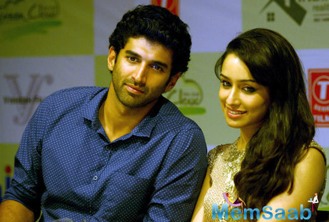 Aditya Roy Kapur confirmed 'The film is all set to start rolling in March. Shraddha Kapoor and Me signed asthe lead