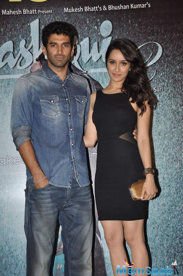 While Shraddha Kapoor is busy with Rock On 2 and Baaghi, Aditya is currently seen in Fitoor promotion