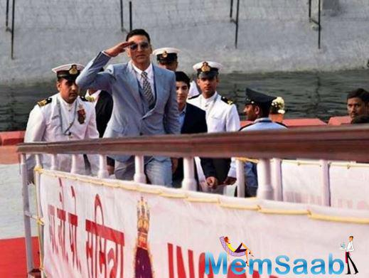 Star Akshay, who is the brand ambassador of the International Fleet Review, shared some  proud moments with PM Modi