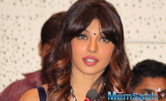 At a leading magazine photo shoot, Priyanka opened up about her take on romance, but who is the mysterious man, she was not saying about him