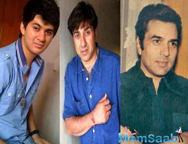 'I want's to pay Papa Dharam a tribute in my son Karan's Bollywood debut', Sunny confessed in an interview