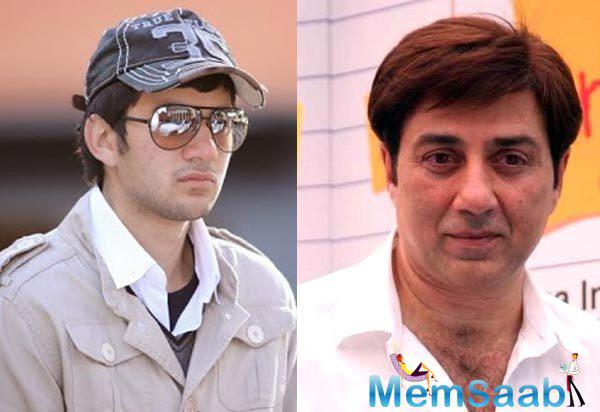 In a recent interview Sunny Deol had talked about wanting to direct his son Karan's Bollywood debut